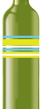 deadleaf green bottle with paint overprint