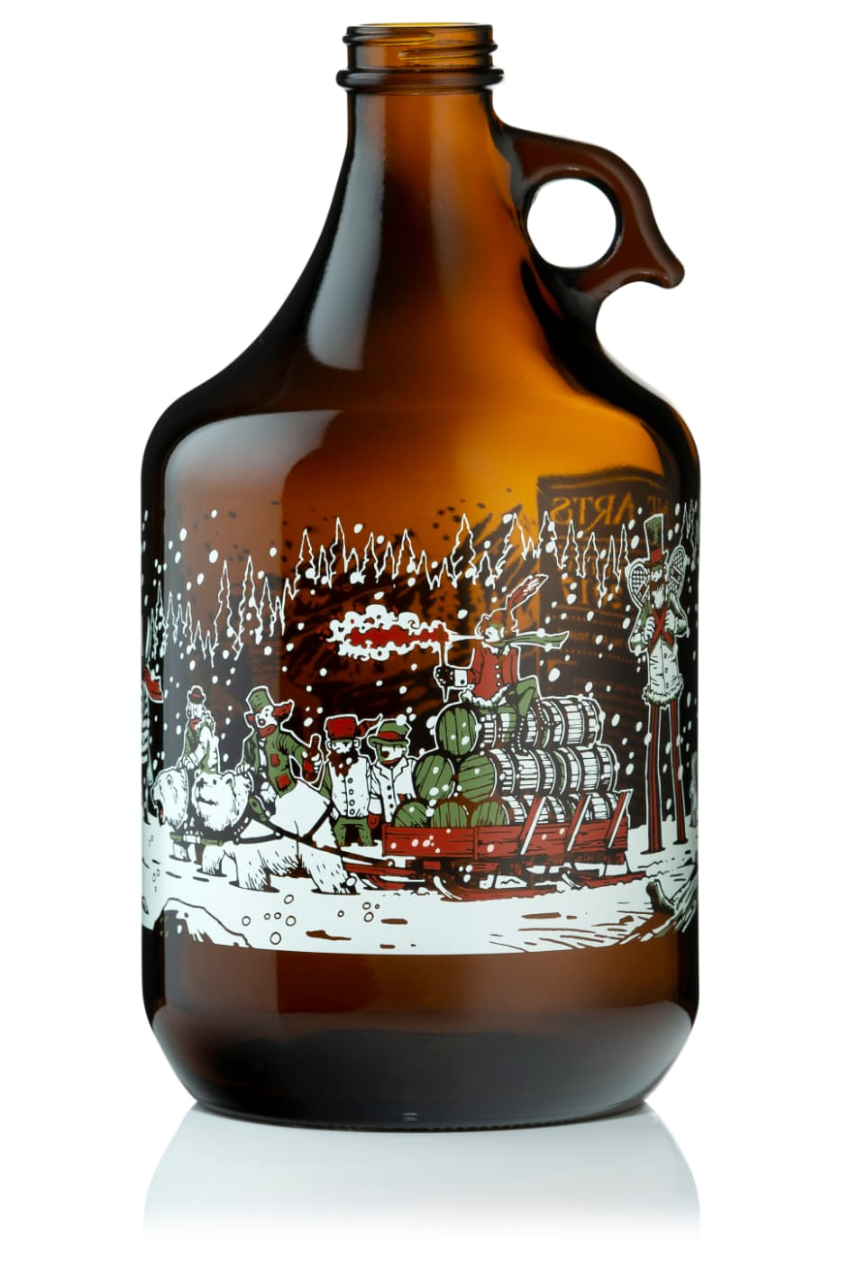 Vine Arts Growler Beer