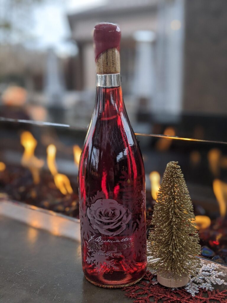 Bookwalter Winter Rose Label Design