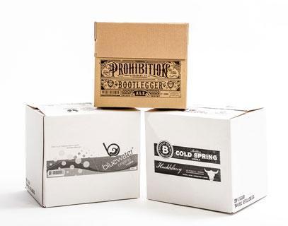 Universal printed cartons